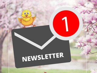 Hello, May! Check out our May Newsletter