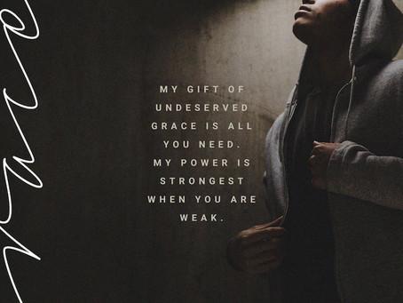 It's Okay to Be Weak
