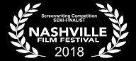 Screenwriting Semi Finalist NaFF Laurels
