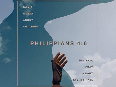 Turn Worries into Prayers