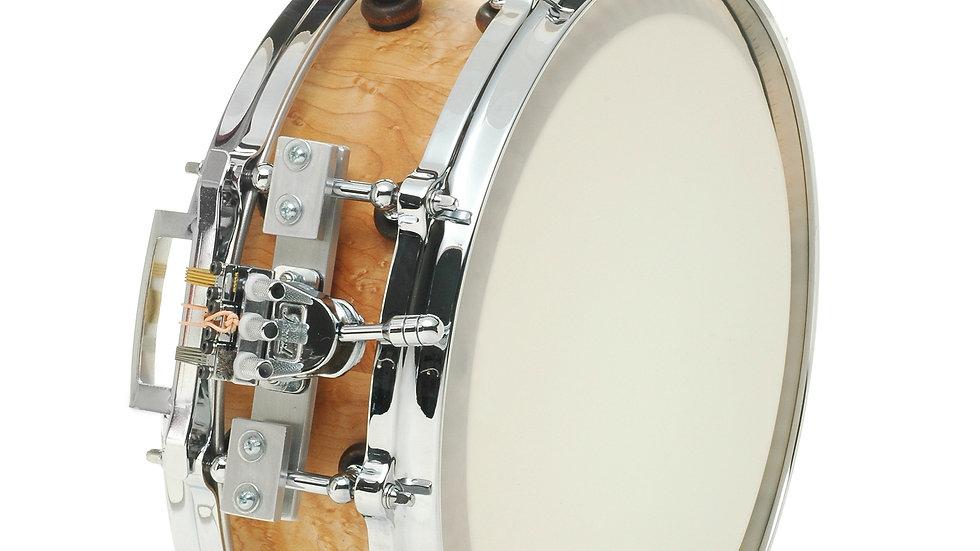 "4"" x 14"" (13"") Birsdeye Maple Stave, Extended Collar, Pearl Triad Strainer"