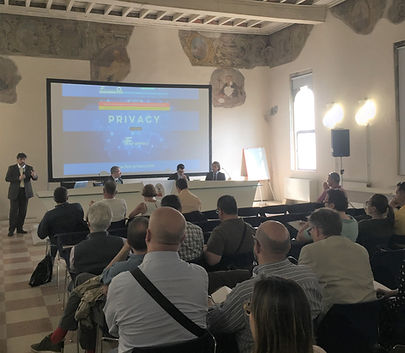 Giancarlo Spinelli ermes crema privacy evento museo crema