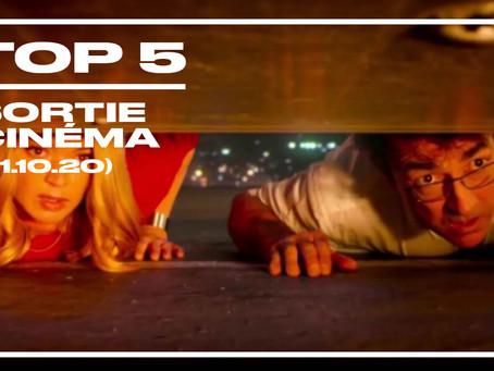 Top 5 des sorties cinéma (21 octobre 2020)