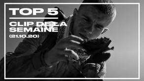 Top 5 des clips de la semaine (21 octobre 2020)