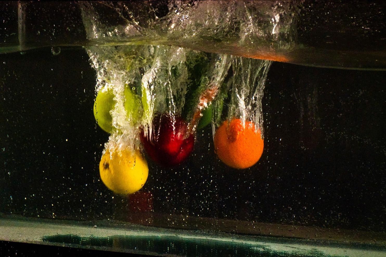 Photos abstraites et aquatiques