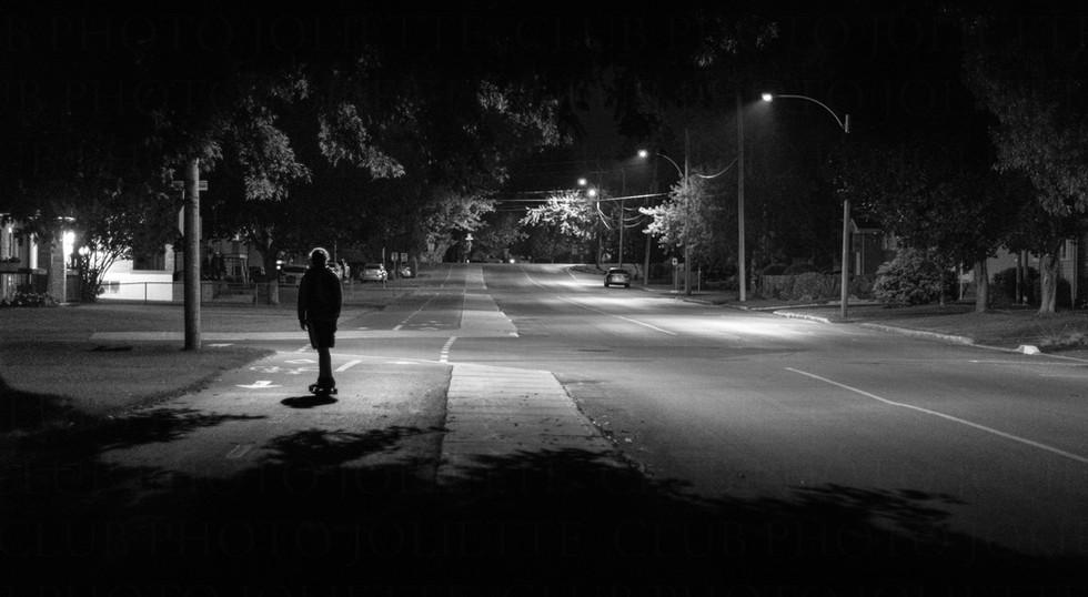 Solitude nocturne - Guillaume Morin