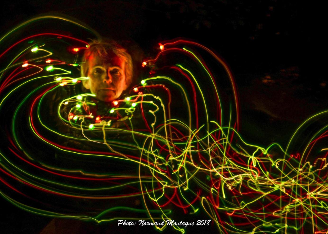 Portrait Lightpainting