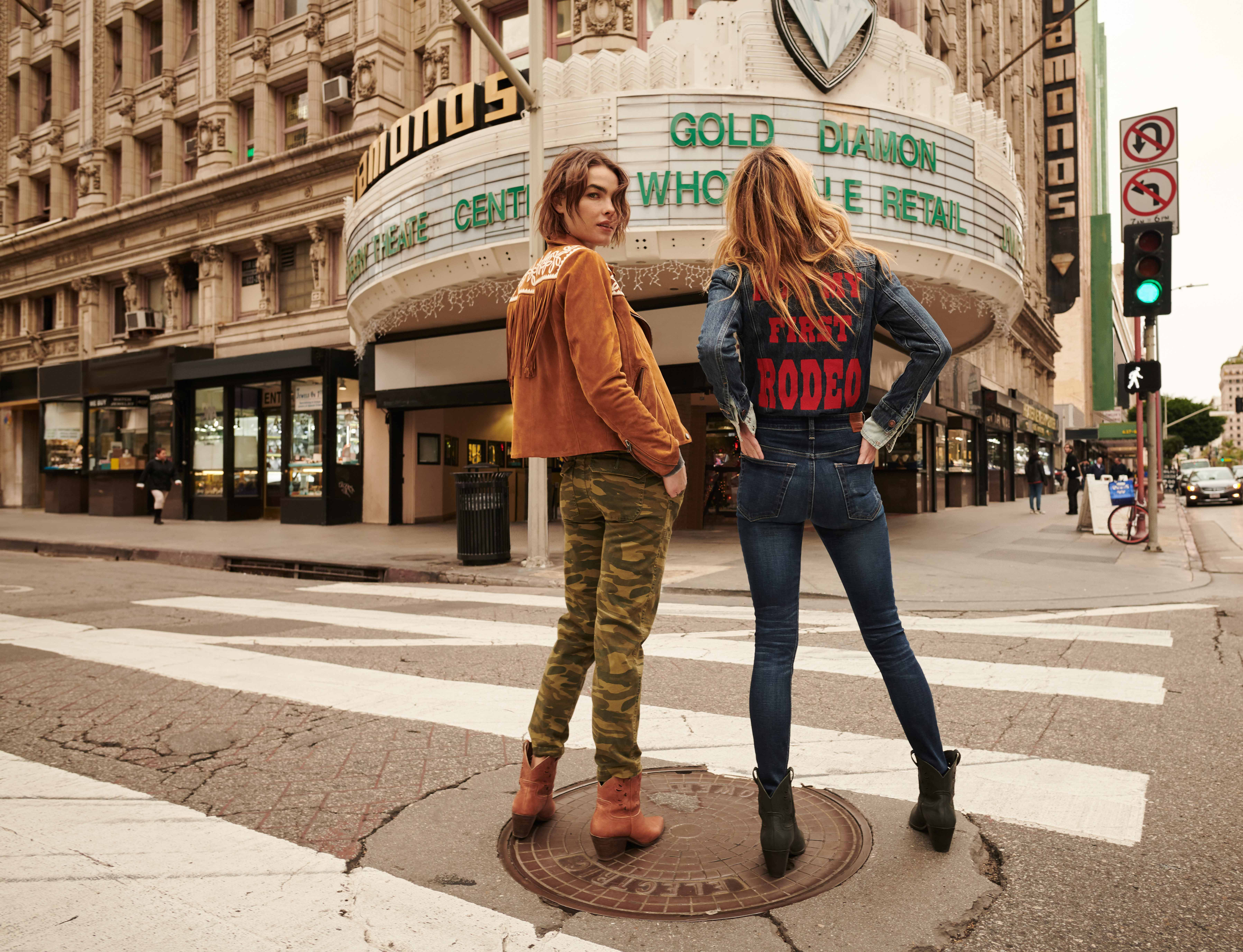 Camille & Bambi for Lucky Brand