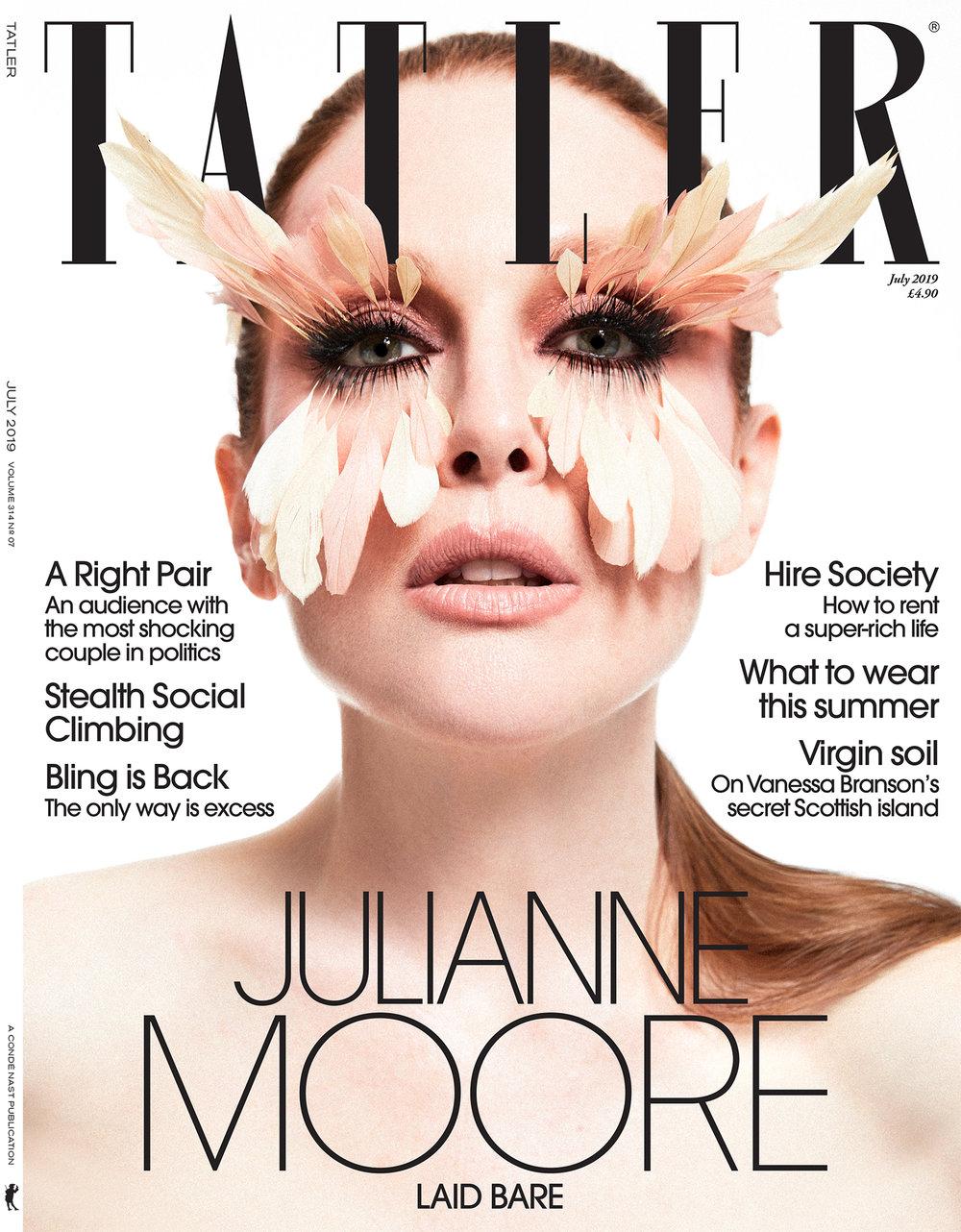 Julianne Moore for TATLER