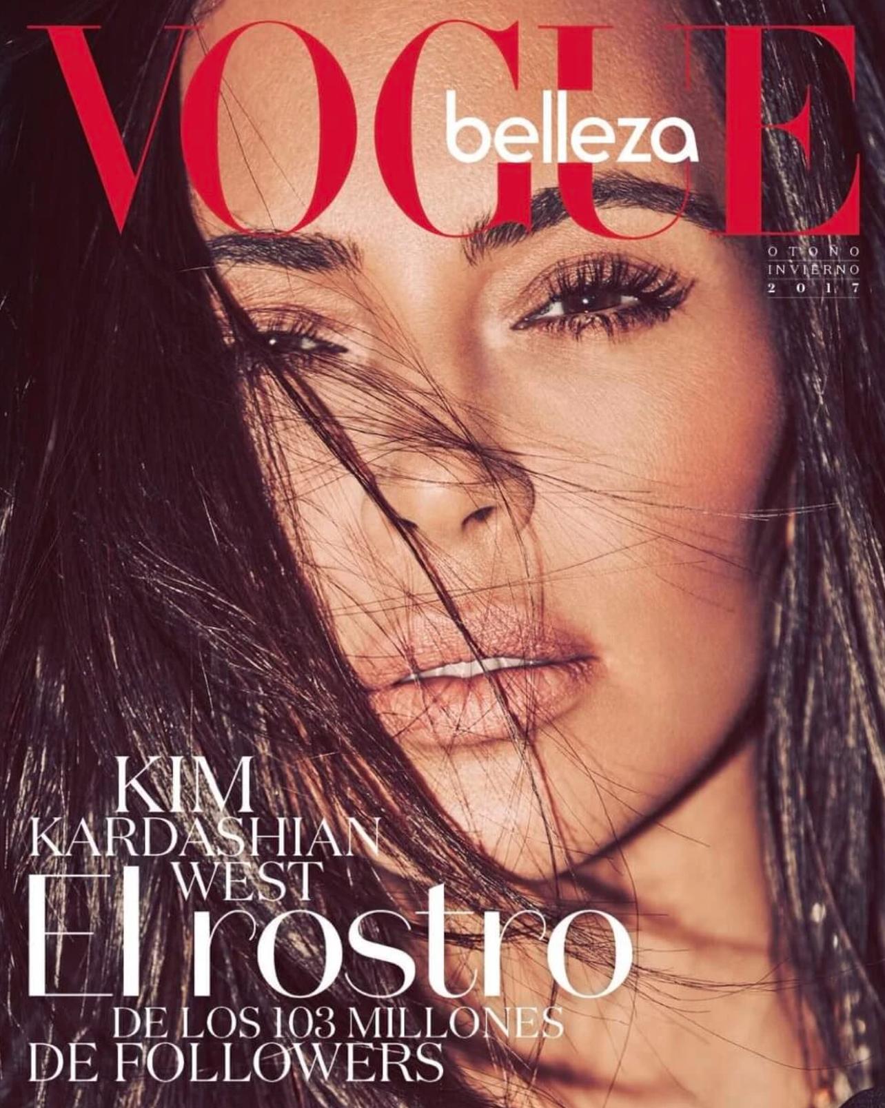 Kim Kardashian for Vogue Mexico