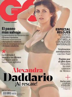 Alexandra Daddario for GQ Mexico