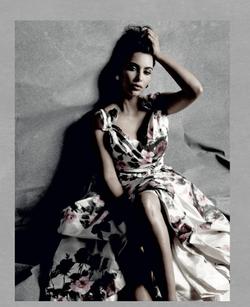 Kim Kardashian for Tatler Magazine