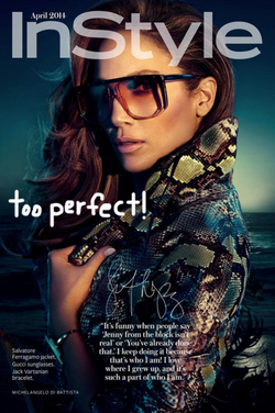 Jennifer Lopez for InStyle