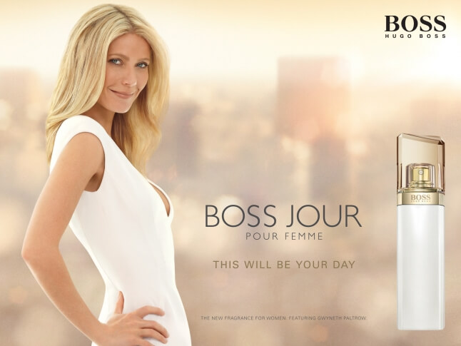 Gwyneth Paltrow for Hugo Boss