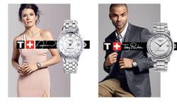 Danica Patrick & Tony Parker for Tissot