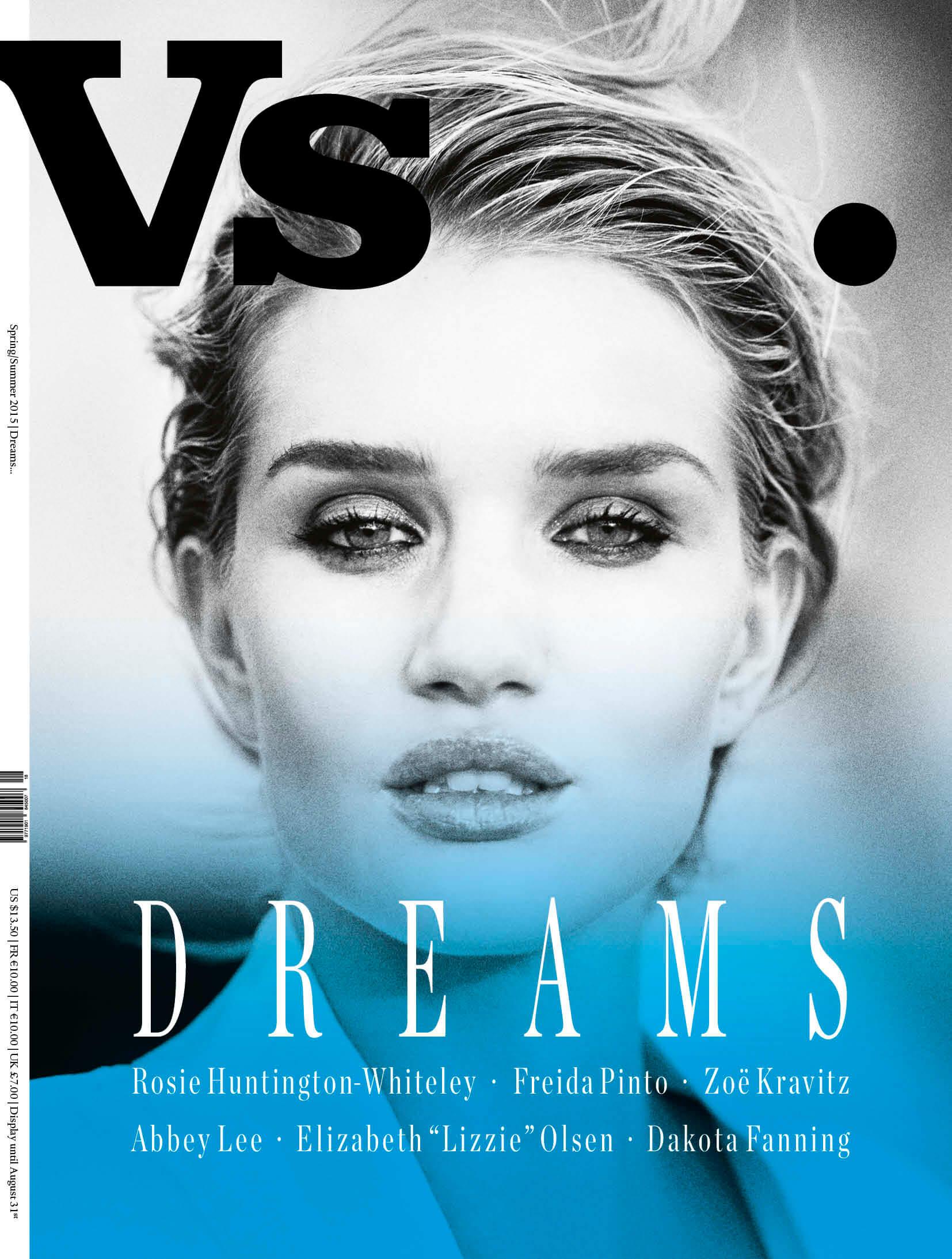 Rosie Huntington for Vs Magazine