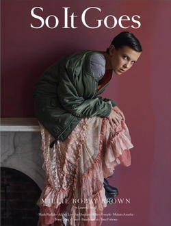 Millie Bobby Brown for So It Goes