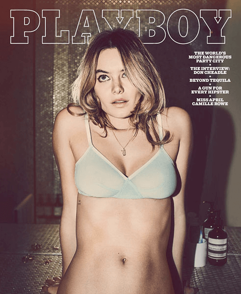 Camille Rowe for Playboy