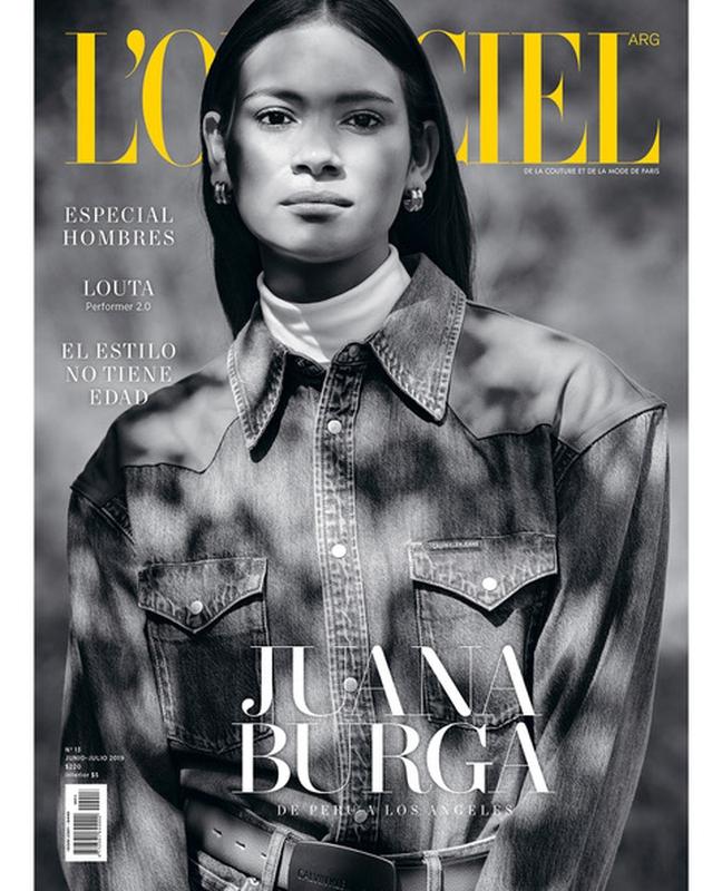 Juana Burga for L'Officiel
