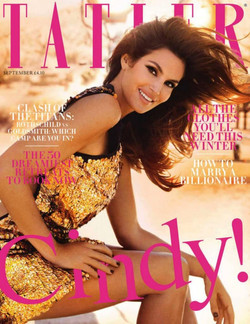 Cindy Crawford for Tatler Magazine