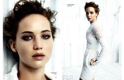 Jennifer Lawrence for InStyle