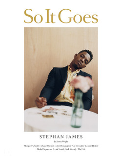 Stephan James for So It Goes