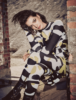 Anne Hathaway for Refinery29
