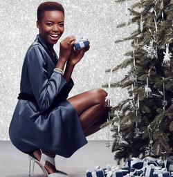 Maria Borges for Swarovski Christmas