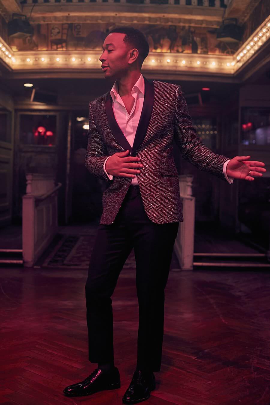 John Legend for MR PORTER