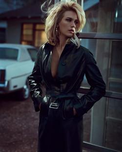 January Jones for Vogue Italia