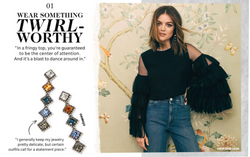 Lucy Hale for Shopbop