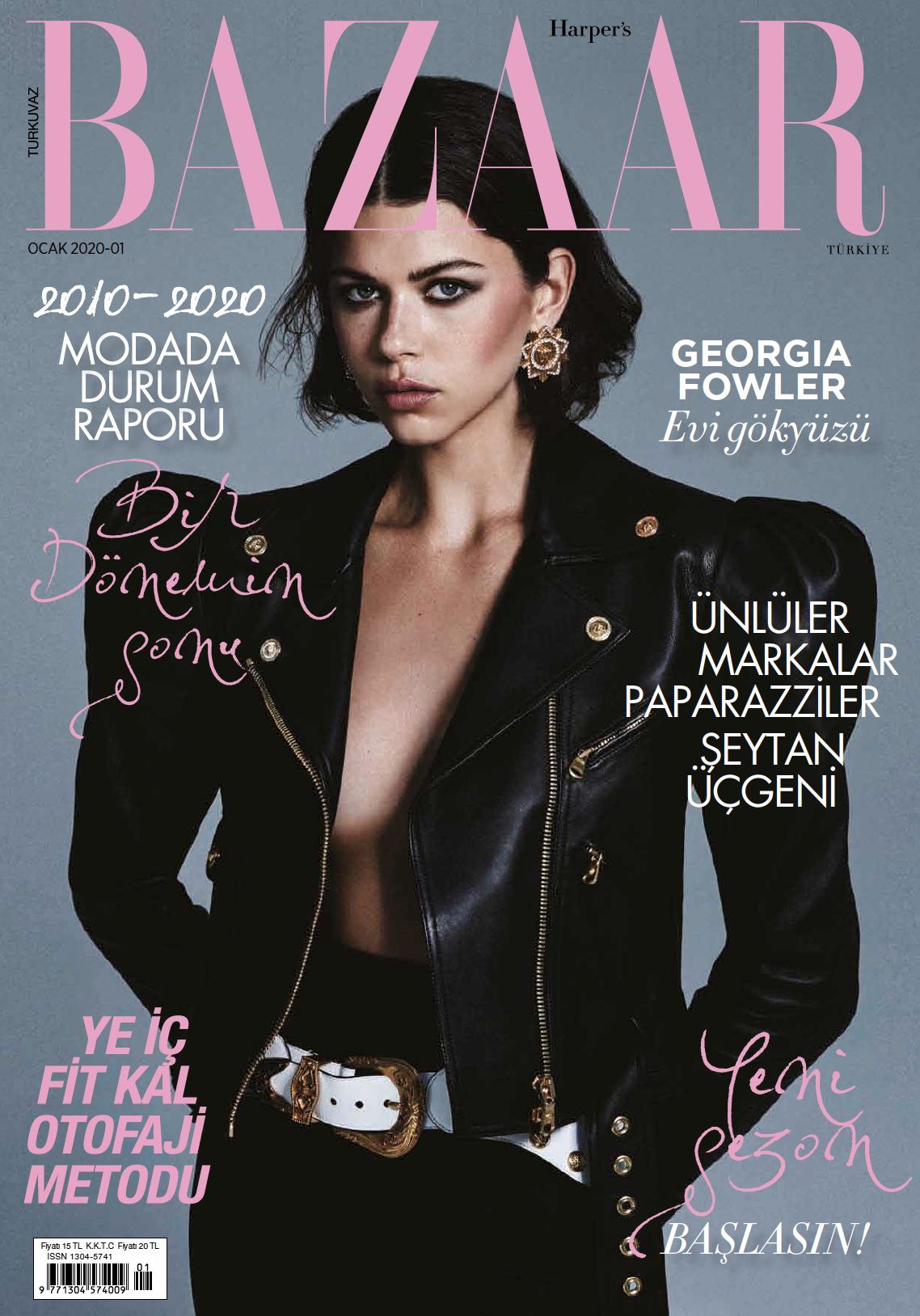 Georgia Fowler for Harpers Bazaar Türkiye