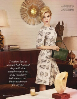 Alice Eve for Tatler Magazine