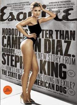 Cameron Diaz for Esquire