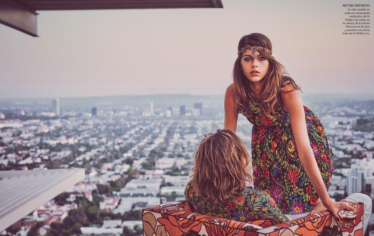 Georgia Fowler for Vogue México
