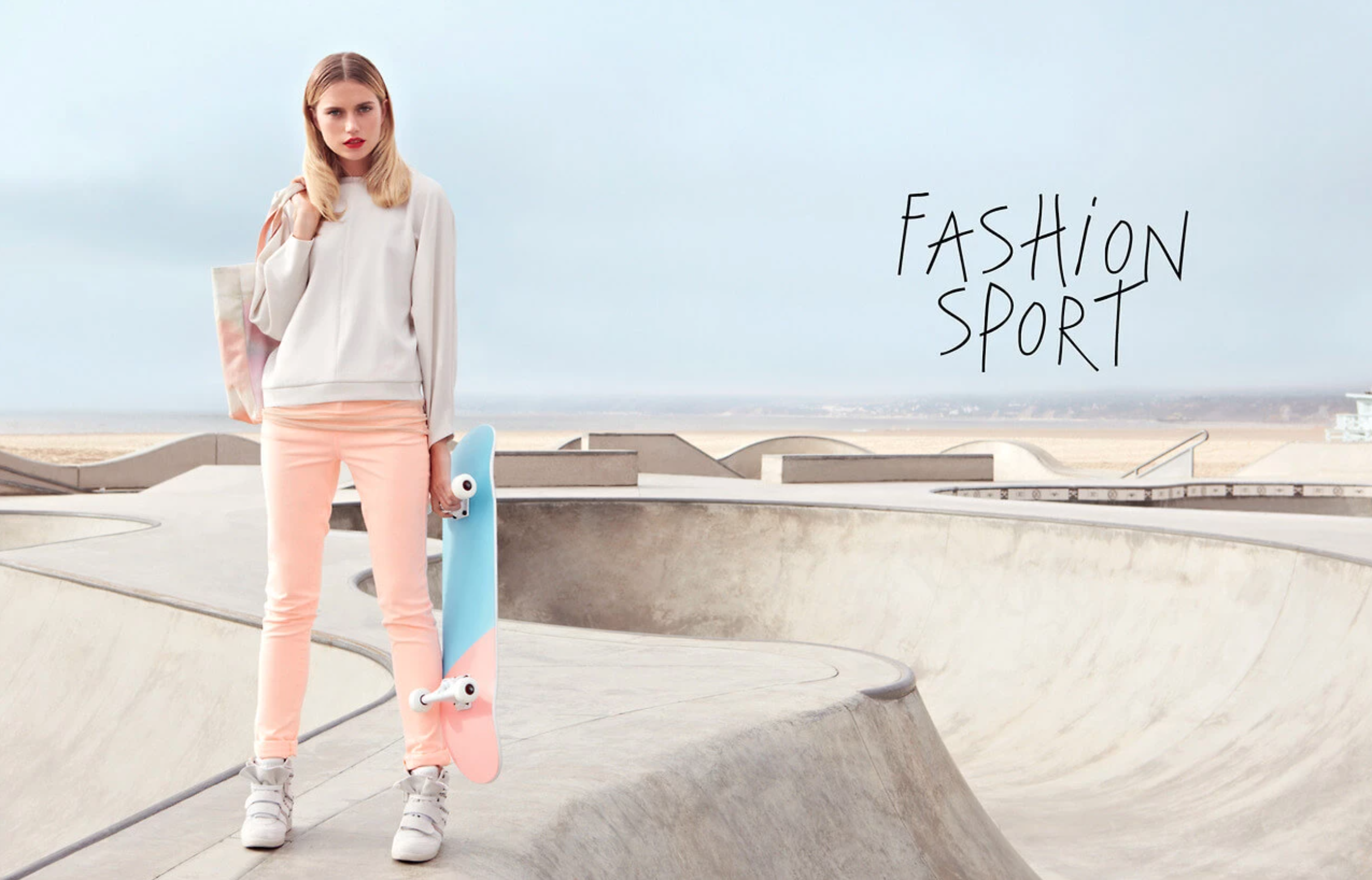 Galeries Lafayette – Fashion Sport Catalogue Spring / Summer