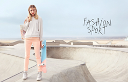 Galeries Lafayette – Fashion Sport Catalogue Spring / Summer