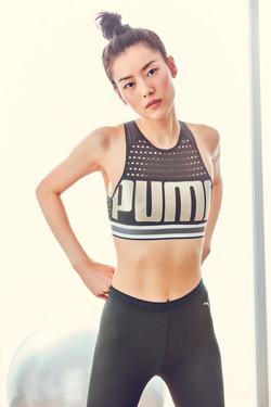 Liu Wen for Puma
