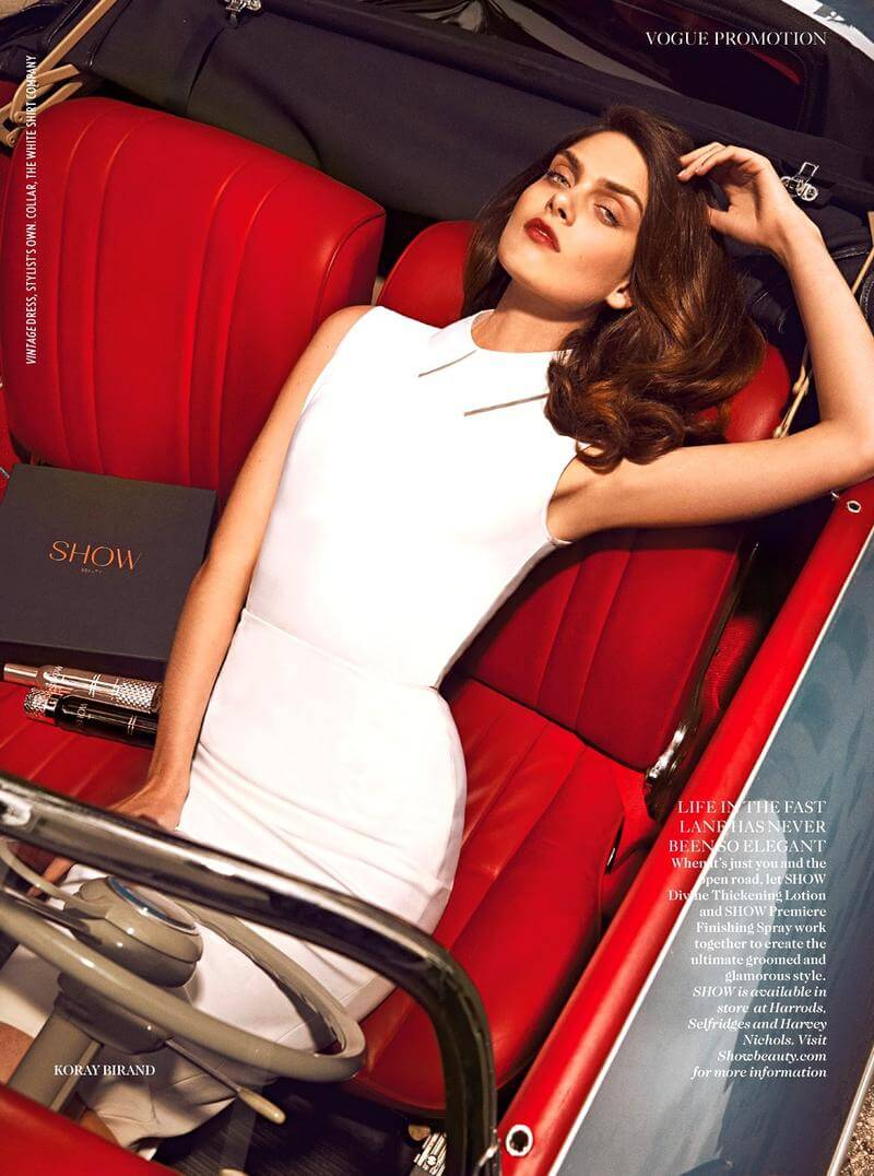 Vogue UK – Turn Up The Heat
