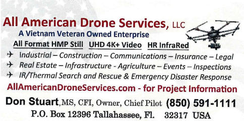 All American Drone  Services Card