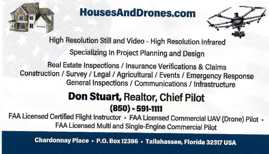 Houses & Drones Card