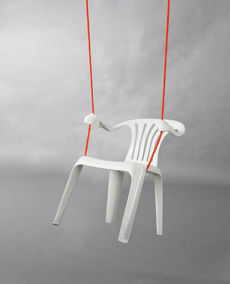 rocking chair Bert Loeschner Monobloc