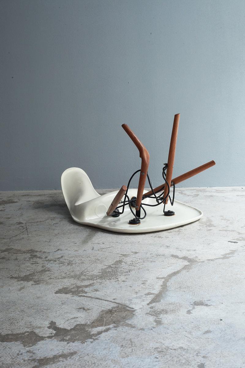 Dead Sidechair Wood Bert Loeschner