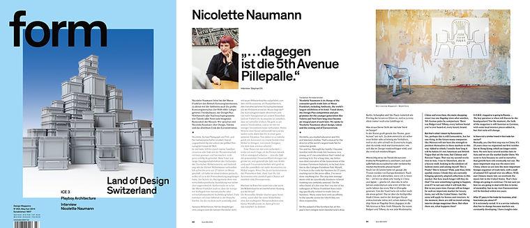 form magazine bert loeschner nicolette Naumann