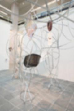 Bert Loeschner, Kim, seat-shell, Eames, Belvedere 21, Wien, One Mess Gallery