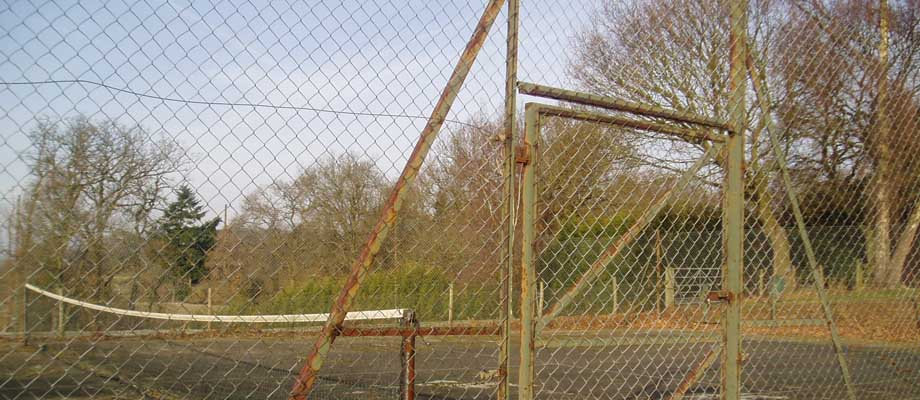 Tennis Court Fence Posts & Gates | Peter A Housden | Hampshire, Sussex, Surrey, Berkshire & the Isle of White