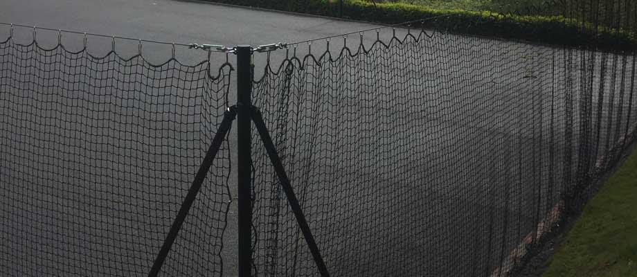 Tennis Court Fencing Refurbishment | Peter A Housden | Hampshire, Sussex, Surrey, Berkshire & the Isle of White