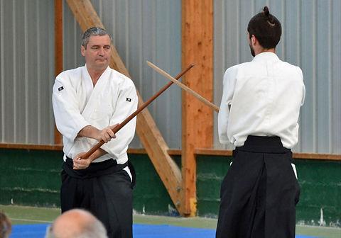 Dojo Traditionnel Club Association Aïkido Paris Vincennes Fort Neuf Alain Peyrache Boken Waza
