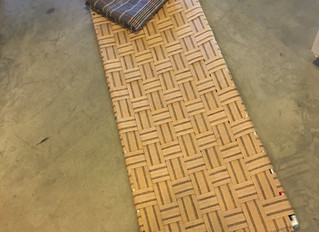 DIY Woven Cot Project