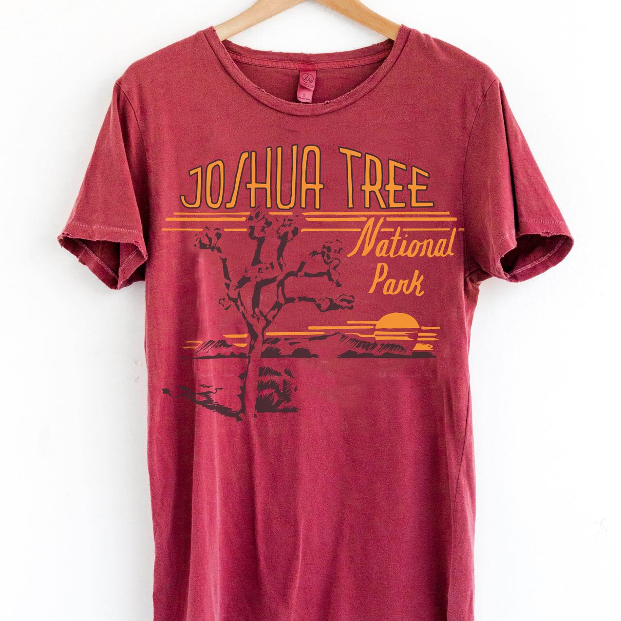 NP Joshua Tree Red Heritage Tee